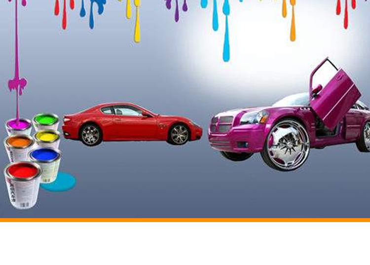 高級汽車調漆系統
